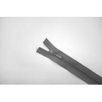 Молния спиральная брючная неразъёмная серая 16,5 см Lampo G20 21092107