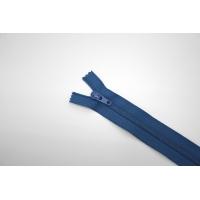 Молния спиральная брючная неразъёмная синяя 18 см YKK G20 21092116