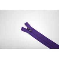 Молния спиральная брючная неразъёмная фиолетовая 18 см YKK G20 21092121