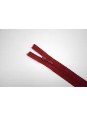 Молния спиральная брючная неразъёмная темно-красная 10 см Lampo G20 21092126