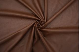 Экокожа на вискозе коричневая NST.H-F40 07102102