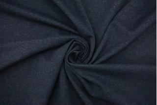 Джерси вискозный темный серо-синий меланж NST-Y70 07102110