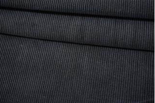 Вельвет хлопковый плотный темно-серый BRS-L10 08102113