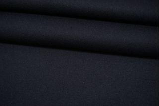 Пальтовая шерсть черно-синяя с кашемиром BRS 08102123