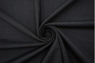 Тонкая костюмно-плательная шерсть графит BRS 08102135