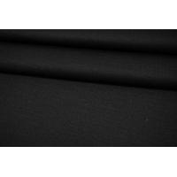 Трикотаж шерстяной тонкий с кашемиром черный Donna Karan NST-W30 08102148