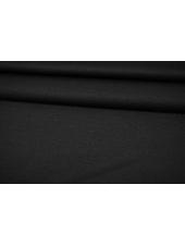 Трикотаж шерстяной тонкий с кашемиром черный Donna Karan NST-W30 08102149