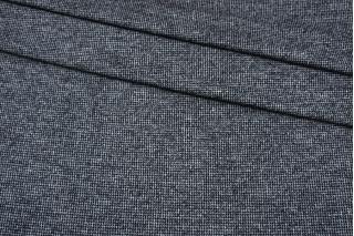 Джерси шерстяной бело-синий пепита Donna Karan NST-W30 09102102