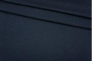 Джерси шерстяной черно-синий пепита Donna Karan NST-W30 09102103