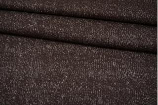 Шерстяной трикотаж с кашемиром коричневый NST-W30 09102108