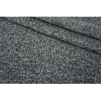 Трикотаж-букле черно-серый NST-X10 09102112