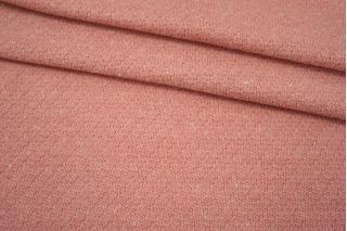 Трикотаж шерстяной вязаный розовый NST-W20 09102114