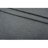 Лоден двусторонний трикотажный черно-серый гусиная лапка NST-W40 09102119