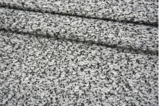 Трикотаж-букле черно-серо-белый NST-X10 09102124