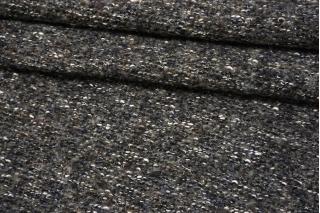 Трикотаж-букле серо-коричневый с люрексом NST-W70 09102125
