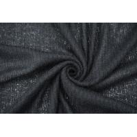 Трикотаж шерстяной вязаный черный NST-Y10 09102127