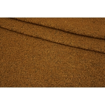 ОТРЕЗ 2,7 М Трикотаж-букле темно-горчичный NST-(17)- 09102128-1