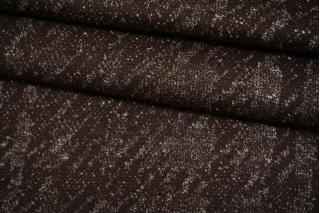 Шерстяной трикотаж с кашемиром коричневый NST-W30 09102132