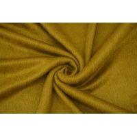 Трикотаж ворсовый зеленая горчица NST-U40 09102134