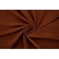 Вельвет хлопковый костюмный коричневый NST-К70 09102139