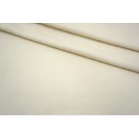 Пальтовая шерсть диагональная молочная NST-V10 09102140