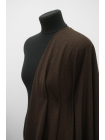 Твид костюмный в елочку черно-коричневый NST-EE60 10102110