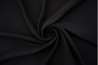 Плательный креп-стрейч черный BRS-G30 12102107