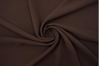 Плательный креп-стрейч коричневый BRS-I10 12102108