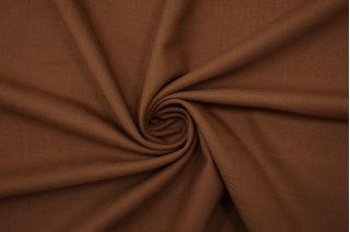 Костюмная тонкая шерсть-стрейч коричневая BRS-CC20 12102113