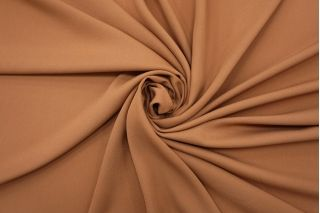 Креп шелковый бежево-коричневый BRS-N30 12102146