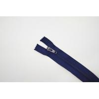 Молния спиральная брючная неразъёмная темно-синяя 18 см YKK 14102109