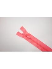 Молния спиральная брючная неразъёмная ярко-розовая 14 см 14102128