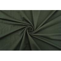 Футер тонкий темно-зеленый 2-х нитка IDT 06042142