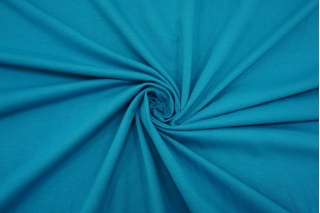 Футер тонкий бирюзово-голубой 2-х нитка IDT-T40 06042197