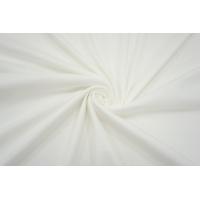 ОТРЕЗ 1,6 М Трикотаж рибана белый IDT-(45)-  08032116-1