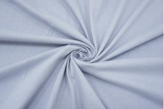 Тонкий трикотаж бледный сиреневато-голубой IDT 28042101