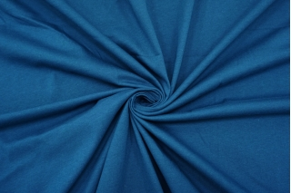 Тонкий трикотаж темный сине-бирюзовый IDT-S30 28042104