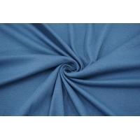 Трикотаж рибана пасмурный голубой IDT 28042128