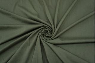 Тонкий трикотаж Chloe приглушенный зеленый хаки IDT 28042138