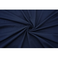 Тонкий трикотаж темно-синий IDT-R30 28042140