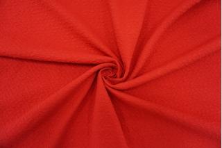 Трикотаж фактурный красный IDT-Q20 06042112