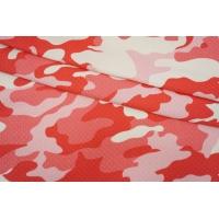 Трикотаж фактурный розовый камуфляж IDT-R20 06042113