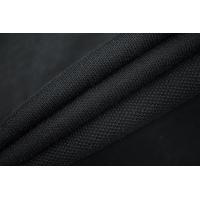 Трикотаж пике-кулирка черный плотный IDT-Q40 06042146