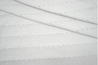 Тонкий трикотаж фактурный белый IDT-R20 08032119