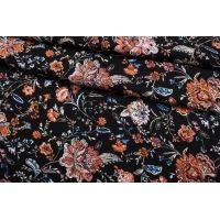 Плательная вискоза цветы  IDT-H60 25032104