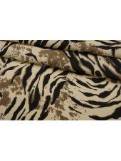 Твил плательный хлопковый тигр IDT-C40 25032107