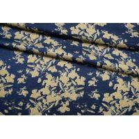 Плательно-блузочный сатин вискозный цветы IDT-H40 25032112