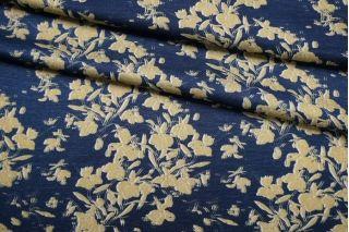 Плательно-блузочный сатин вискозный цветы IDT-H5 25032112