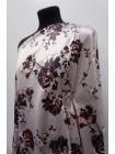 Плательная поливискоза атласная цветы на жемчужно-сиреневом фоне NST.H-H70 26022189