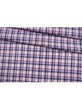 Хлопок со льном рубашечный в клетку FRM-H5 27022131